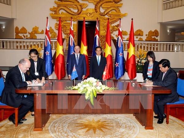 Declaration commune Vietnam - Nouvelle-Zelande hinh anh 1