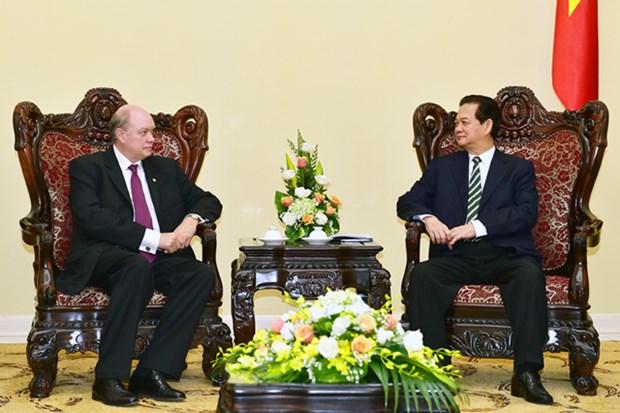 Le PM Nguyen Tan Dung recoit le ministre cubain du Commerce exterieur hinh anh 1