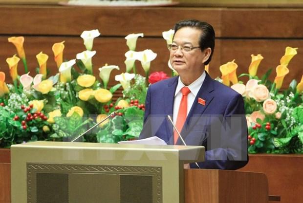 Le PM et 6 ministres a la derniere seance d'interpellations de l'AN hinh anh 1