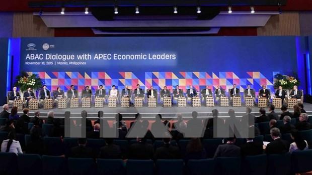 Les dirigeants de l'APEC discutent de la cooperation regionale hinh anh 1