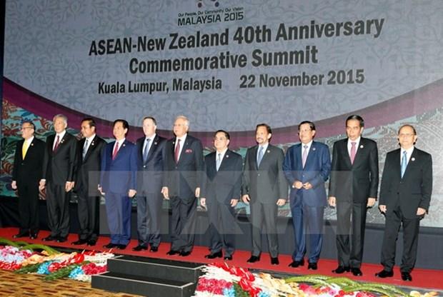 Le PM aux sommets ASEAN-Nouvelle-Zelande et de l'Asie de l'Est hinh anh 1