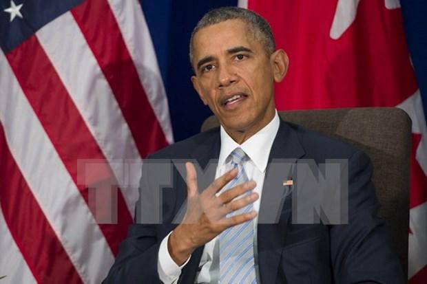 Obama appelle a l'arret d'iles artificielles en Mer Orientale hinh anh 1