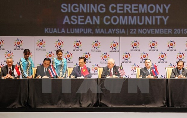 Un virage historique dans le processus de developpement de l'ASEAN hinh anh 1