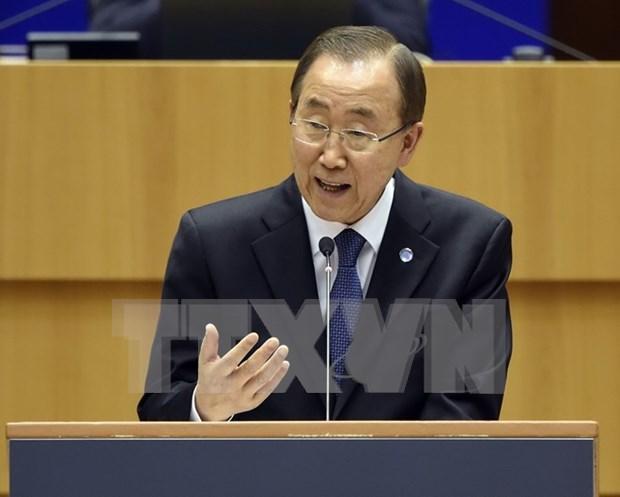 Mer Orientale : Ban Ki-moon appelle les parties a respecter le droit hinh anh 1