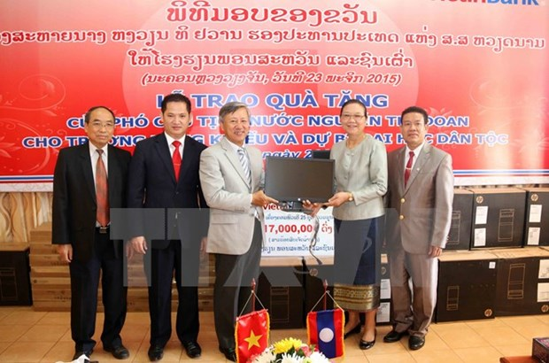 Le Vietnam aide le Laos a developper son systeme educatif hinh anh 1