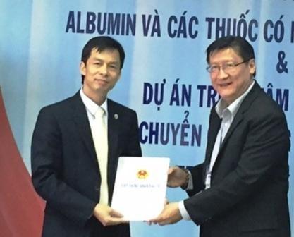 HSTP: remise de la licence d'investissement a deux projets dans le secteur medical hinh anh 1