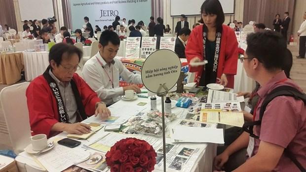 Cooperation entre les entreprises d'export de produits alimentaires Japon-Ho Chi Minh Ville hinh anh 1