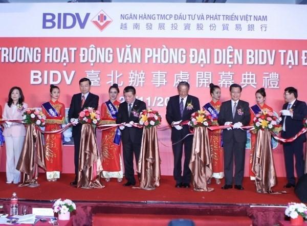 La BIDV ouvre un bureau de representation a Taiwan (Chine) hinh anh 1