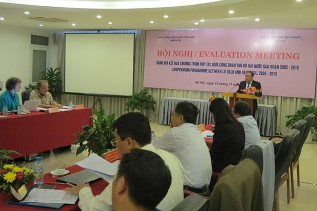Hanoi et Oslo : renforcement de la cooperation syndicale hinh anh 1