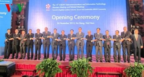Ouverture de la 15e Conference des ministres des telecoms de l'ASEAN hinh anh 1