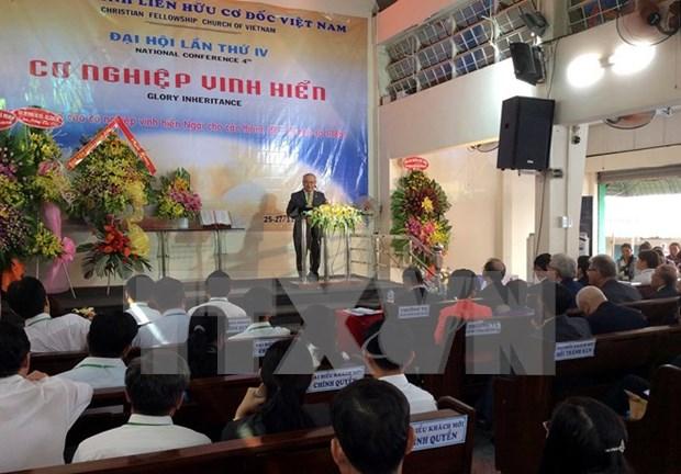 Congres de l'Eglise de la fraternite chretienne du Vietnam a Ho Chi Minh-Ville hinh anh 1