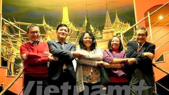 Une rencontre amicale entre ambassadeurs aseaniens en R. tcheque hinh anh 1