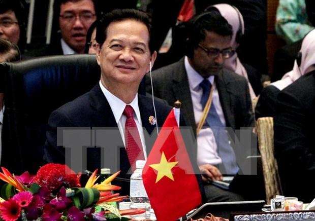 Le Premier ministre Nguyen Tan Dung part pour le COP 21 a Paris hinh anh 1