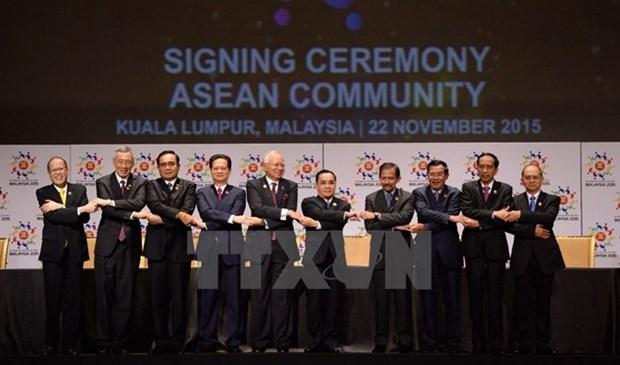 Les contributions du Vietnam a la creation de la Communaute de l'ASEAN hinh anh 1
