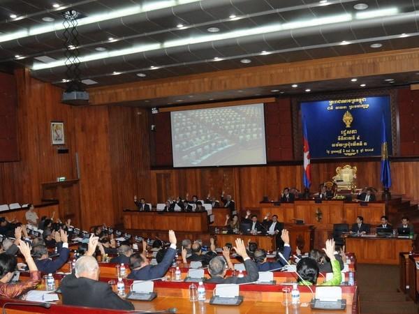 Le Parlement cambodgien adopte le budget public pour 2016 hinh anh 1