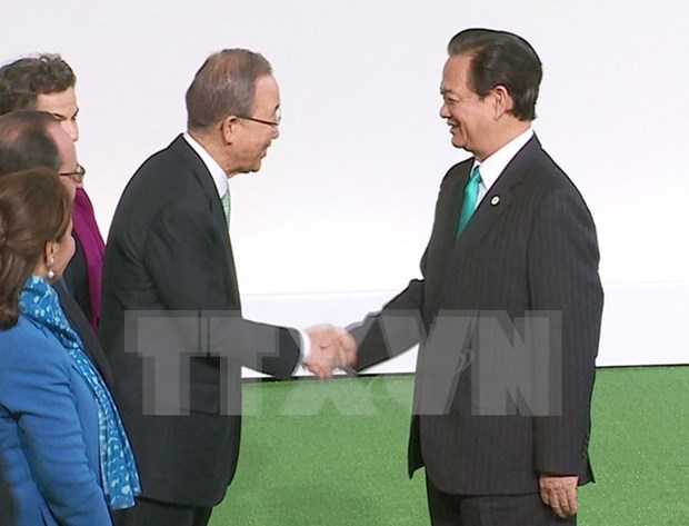 Le PM vietnamien a l'ouverture de la COP21 a Paris hinh anh 1