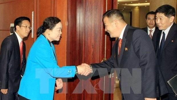 Vietnam et RPDC dynamisent leur cooperation hinh anh 1