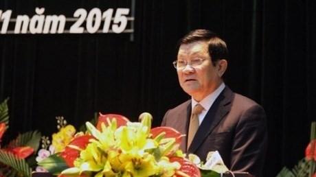 Le chef de l'Etat au Congres de l'Association des Sciences historiques du Vietnam hinh anh 1