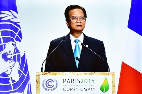 Climat : le Vietnam affirme son fort engagement a Paris hinh anh 1