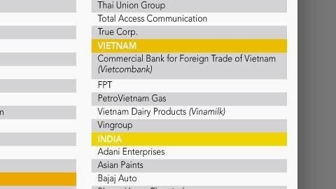 Vinamilk continue de figurer dans la liste Asia300 du Nikkei Asian Review hinh anh 1