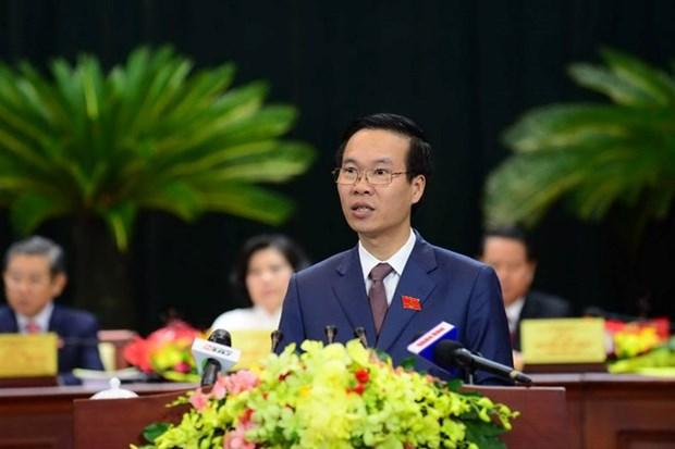 Conference de l'organisation du PCV pour Ho Chi Minh-Ville hinh anh 1
