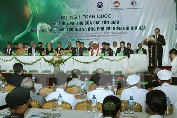 Promotion du role des religions dans la protection de l'environnement hinh anh 1
