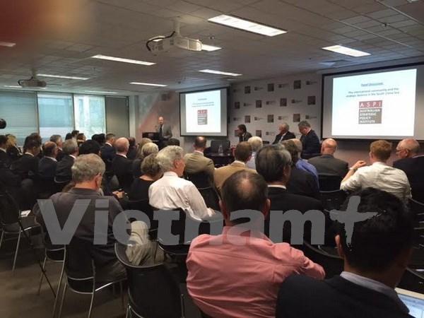 Panel de discussion sur la Mer Orientale en Australie hinh anh 1