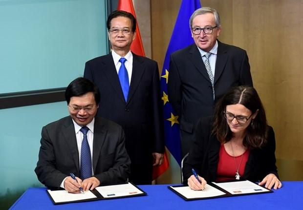 Achevement des negociations de l'Accord de libre-echange Vietnam-UE hinh anh 1