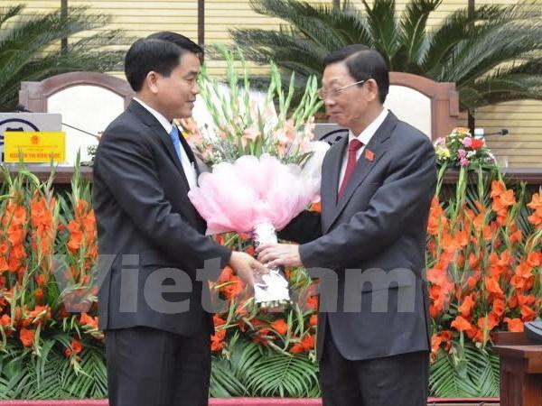 Le Comite populaire de Hanoi a un nouveau president hinh anh 1