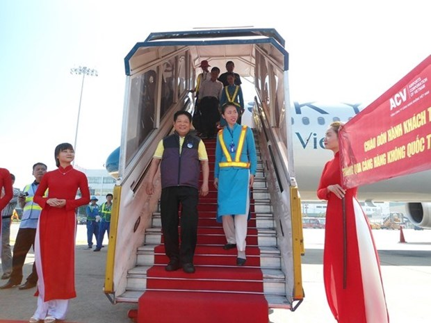 L'aeroport international de Tan Son Nhat accueille son 25 millionieme passager hinh anh 1