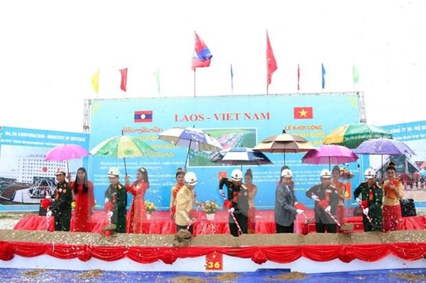 Le Vietnam aide le Laos dans la formation des gardes-frontieres hinh anh 1