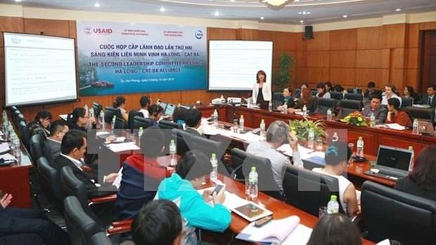 Promouvoir la protection de l'environnement dans la Baie de Ha Long - Cat Ba hinh anh 1