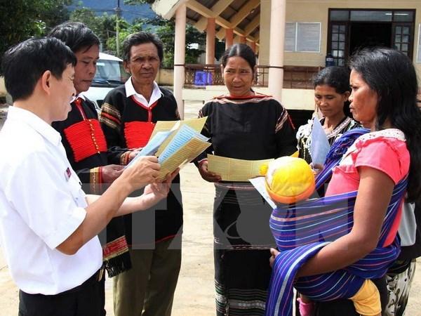Le forum du developpement des ethnies minoritaires a Hanoi hinh anh 1
