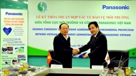 Panasonic Vietnam contribue a la protection de l'environnement hinh anh 1