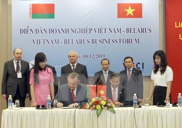 Forum d'affaires Vietnam-Bielorussie hinh anh 1