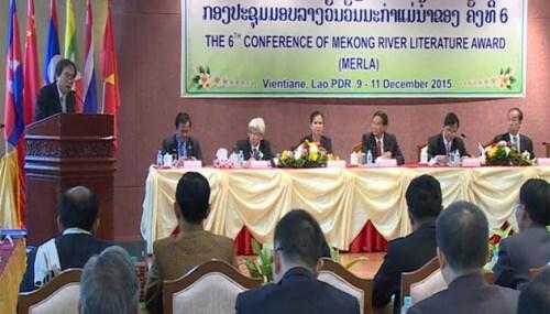 La 6e conference de la litterature des pays riverains du Mekong a Vientiane hinh anh 1