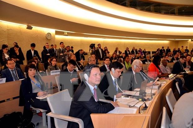 Droits de l'homme : le Vietnam s'engage a respecter les engagements internationaux hinh anh 1