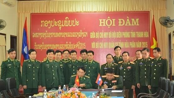 Thanh Hoa et Houaphan renforcent leur cooperation transfrontaliere hinh anh 1