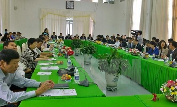 Le Japon aide le delta du Mekong a developper l'agriculture high-tech hinh anh 1
