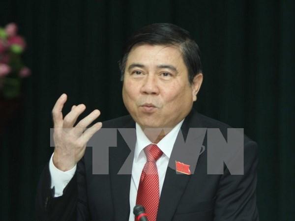 Nguyen Thanh Phong elu president du Comite populaire de Ho Chi Minh-Ville hinh anh 1