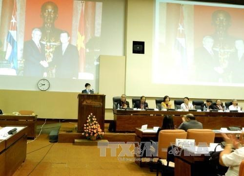Bilan du projet de cooperation dans la riziculture Vietnam-Cuba hinh anh 1