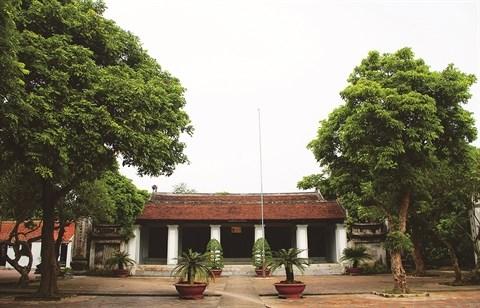 Le temple de la Litterature Xich Dang, fierte de Hung Yen hinh anh 1