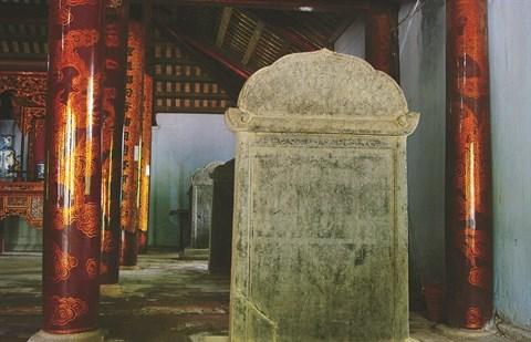 Le temple de la Litterature Xich Dang, fierte de Hung Yen hinh anh 3