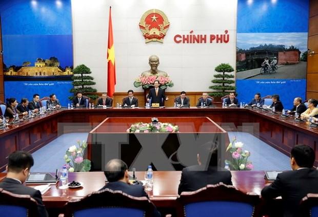Le Premier ministre Nguyen Tan Dung rencontre des entrepreneurs exemplaires hinh anh 1