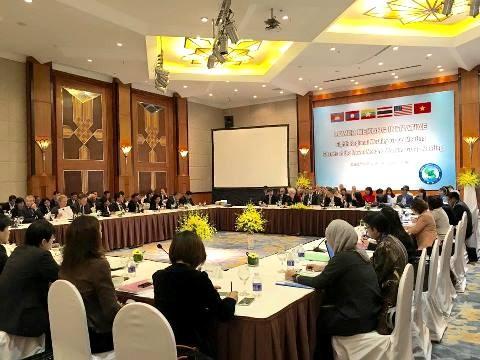 Le Groupe de travail sur l'Initiative du bas-Mekong reuni a Hanoi hinh anh 1