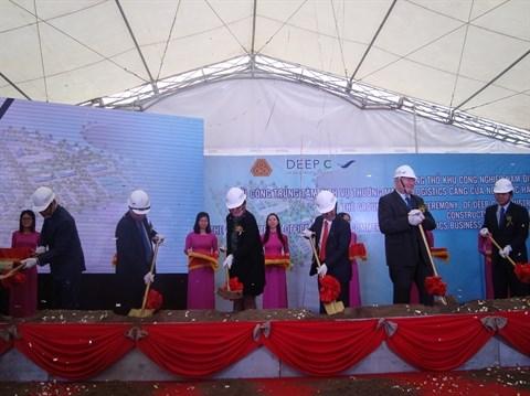 Hai Phong : la zone industrielle Nam Dinh Vu II en chantier hinh anh 1