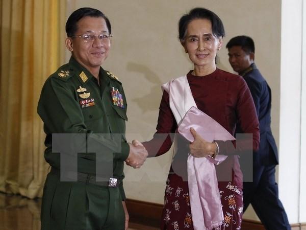 Le Myanmar adopte le projet-cadre du dialogue politique hinh anh 1