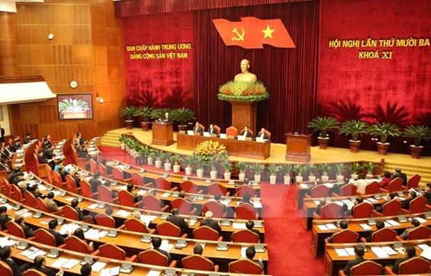 Le CC du PCV se penche sur le projet de rapport politique hinh anh 1