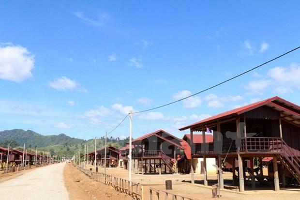 Aide vietnamienne pour une operation de relogement au Laos hinh anh 1