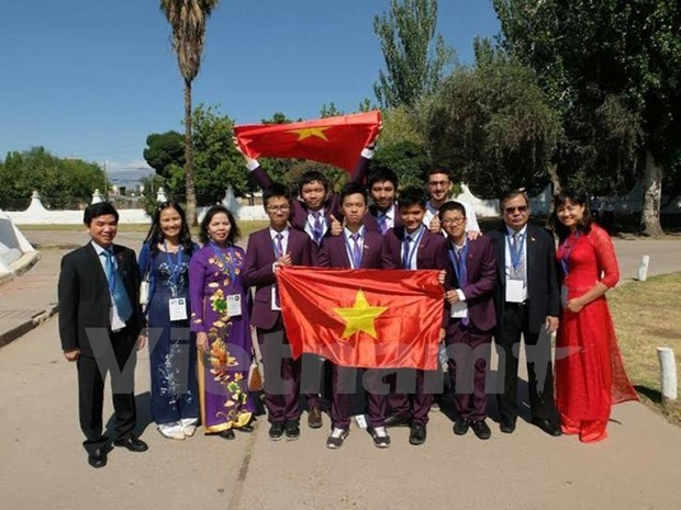 Six medailles vietnamiennes aux Olympiades internationales junior des sciences hinh anh 1
